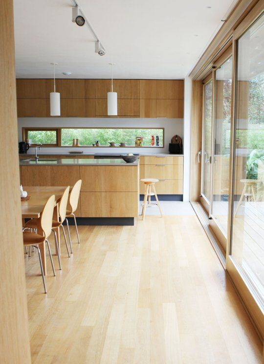 A Minimalist Wood Kitchen in the UK Kitchen Spotlight | The Kitchn