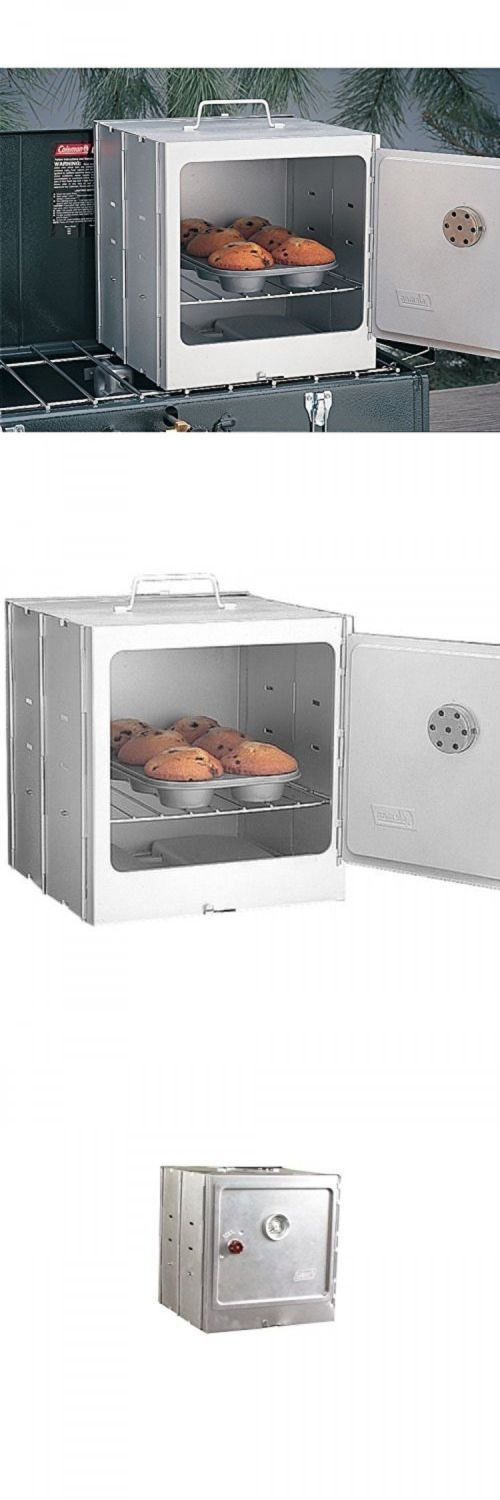 Camping Ovens 181387: Coleman Camp Oven, 5010D700t, Used With Coleman Outdoor Camping Stove, New BUY IT NOW ONLY: $31.5
