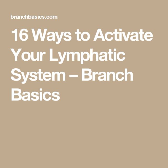 136 best lymphatic system images on pinterest lymphatic system 16 ways to activate your lymphatic system fandeluxe Image collections
