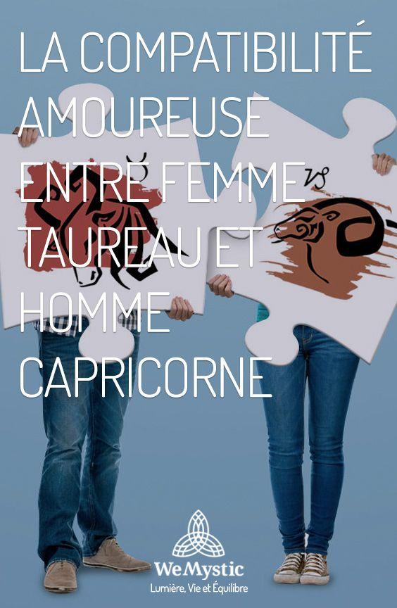 Compatibilte amoureuse femme capricorne homme taureau [PUNIQRANDLINE-(au-dating-names.txt) 68