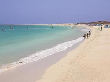 Santa Maria Beach - Sal, Cape Verdes Windsurfing