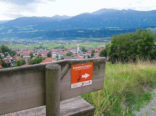 Romedius Pilgerweges Etappen | Pilgern in Tirol und Südtirol - Romedius Pilgerweg von Thaur | Tirol nach San Romedio | Südtirol