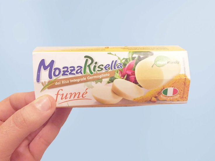 Mozzarisella, mozzarella di riso affumicata #vegan