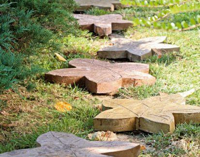Ako si originálne vydláždiť záhradné chodníčky