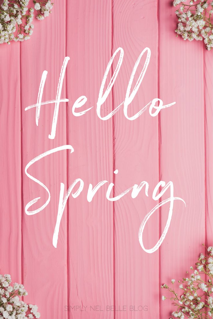 Hello Spring Quote, spring, floral, life quotes, spring photography, spring aesthetic, pink   -Created by: Janelle @Simplynelbelle www.simplynelbelle.com Hello Spring Quote, spring, floral, life quotes, spring photography, spring aesthetic, pink   -Created by: Janelle @Simplynelbelle <a href=