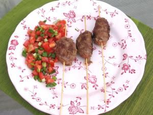Romanian Mititei Sausages - © 2008 Barbara Rolek licensed to About.com, Inc.