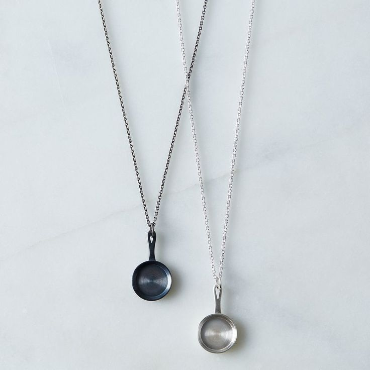 """""""Cast Iron"""" Fry Pan Necklace on Food52"""