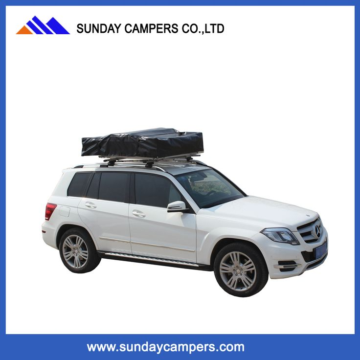 4x4 trailer double layer car soft roof top tent for sale