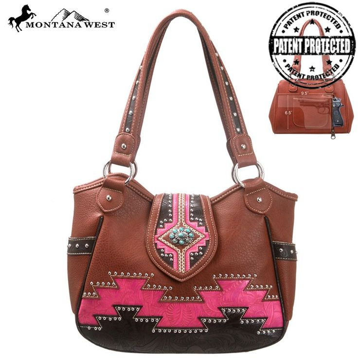 Montana West MW107G-8110 Aztec Concealed Carry Handbag Free Shipping On All Orders Over $79 #MontanaWest #ConcealedCarryPurses #unspokenfashion #fashion #onlineshopping #boutique #stylish #trending #clothing #shoes