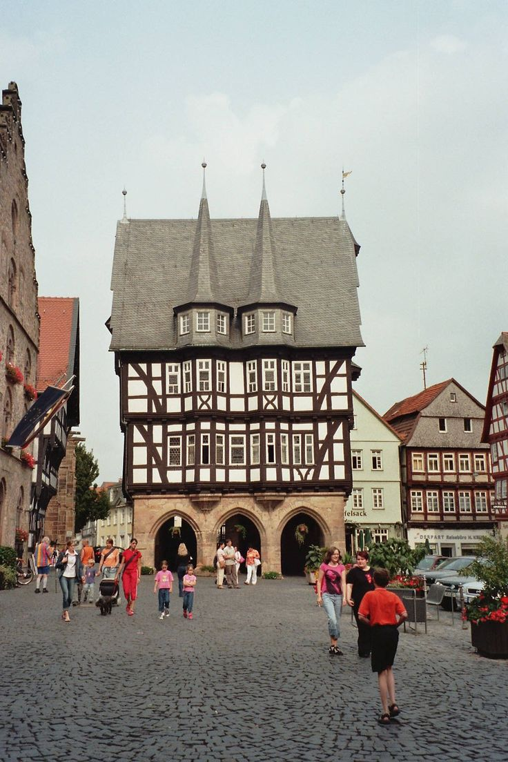 Alsfeld, Germany.  I want to go back here.