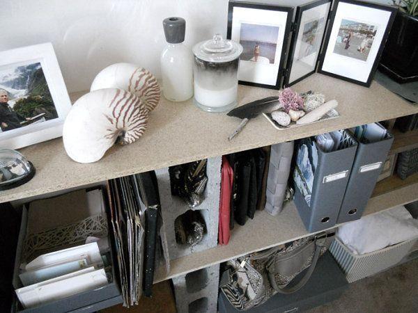 17 mejores ideas sobre estantes de bloques de cemento en pinterest ...