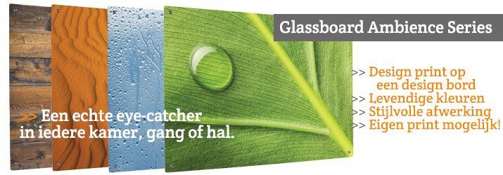 Glassboards.nl, design schrijf- en magneetborden van glas!