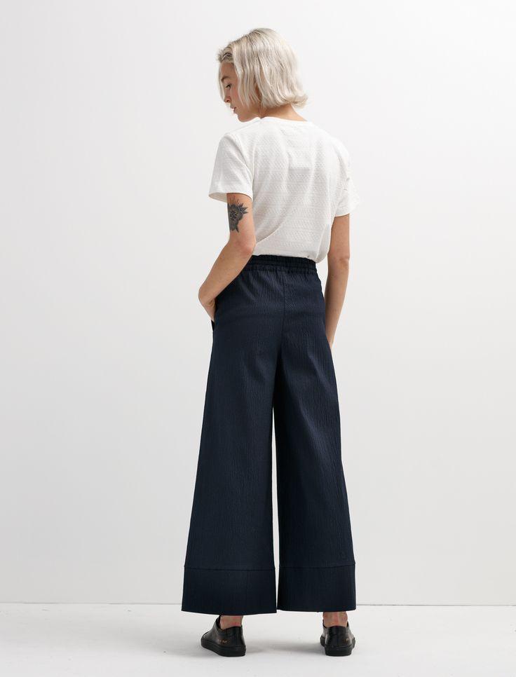 Norse Projects Women's Laura Seersucker Pants