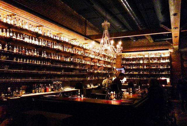 Multnomah Whiskey Library, Portland, Oregon