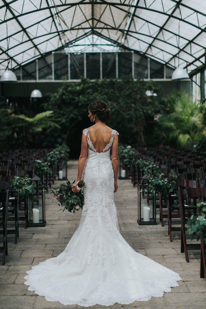 b55c8f1e64d Pronovias  Princia  size 4 used wedding dress back view on bride