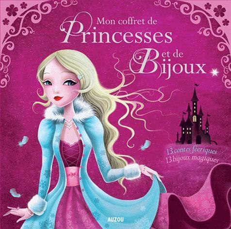 Un très joli cadeau pour les petites filles: Mon coffret de princesses et de bijoux !