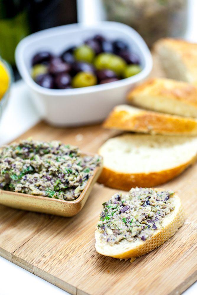 Tartinade vegan olives et artichauts
