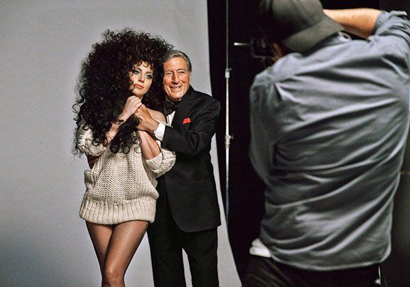 Lady Gaga And Tony Bennett Star In H&M's 2014 Holiday Campaign - Emirates Woman