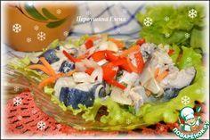 Хе из скумбрии с овощами - кулинарный рецепт