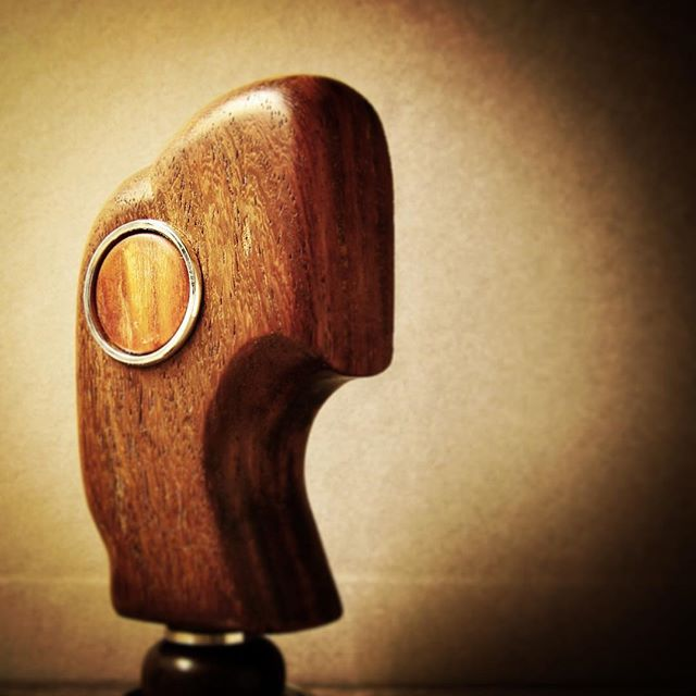 #coffee_inst #coffeegram #coffeeart #coffeelover #coffee #tamper #antique #rosewood #stainless#steel #handmade #art #design #details @secawannsuch @zack_atelier