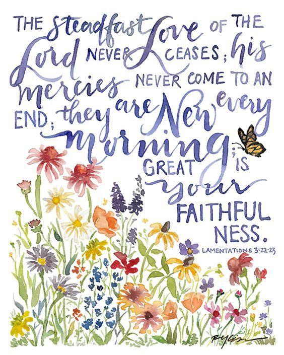 Lamentations 3:22-22