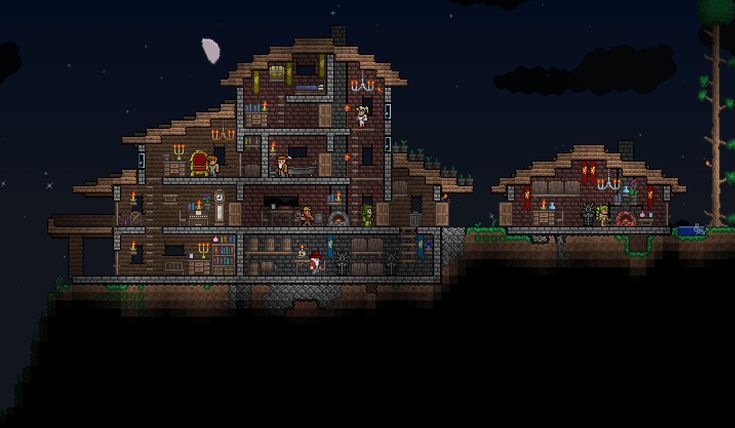 terraria how to build a structure