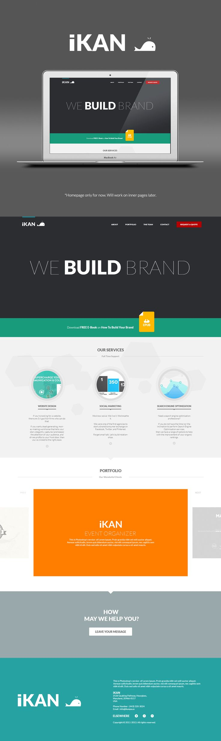 Flat Design Concept – Web Design Examples for Inspiration