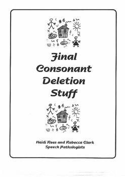 Final Consonant Deletion Stuff