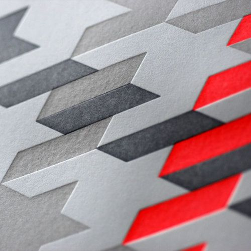 Print Finish / Print pattern / on TTL Design
