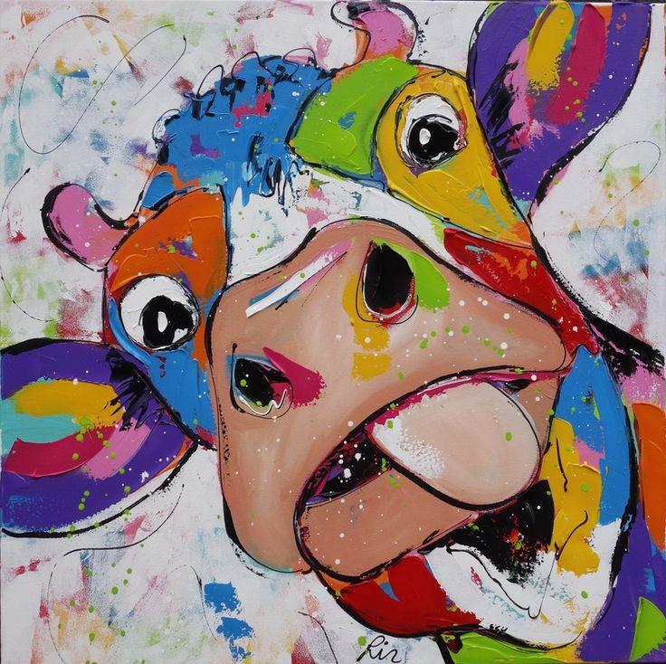 koeien schilderij - Google zoeken