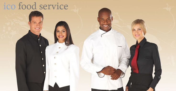 Food Service Uniforms, Food Service Uniform Supplier, Restaurant Uniforms, Restaurant Server Uniforms, Wait Staff Uniforms, Waiter Uniforms, Server Uniforms