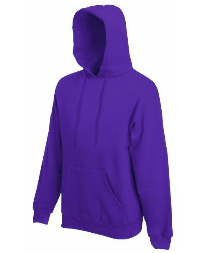 Fruit of the Loom Damen Kapuzenpullover Violett Violett XXL - http://uhr.haus/fruit-of-the-loom/xxl-fruit-of-the-loom-herren-sweatshirt-12208b-34