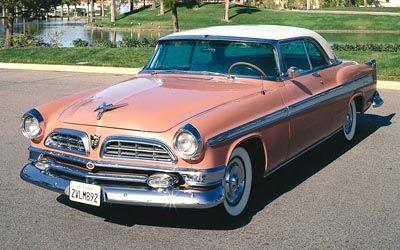 1955 Chrysler New Yorker Newport hardtop coupe, 1956 Chrysler New Yorker Hardtop & Convertible series.