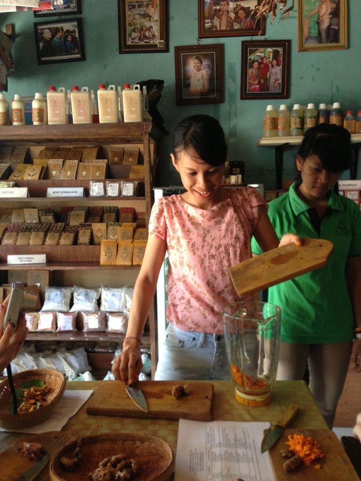 Jamu workshop @ nadis herbal