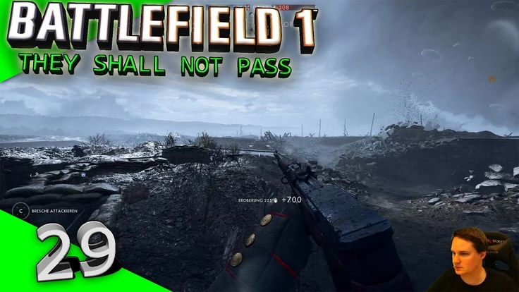 Battlefield 1 - #29 - They Shall Not Pass - Fort Vaux  [Let's Play][Gameplay][German][PC Version] by VoodooDE