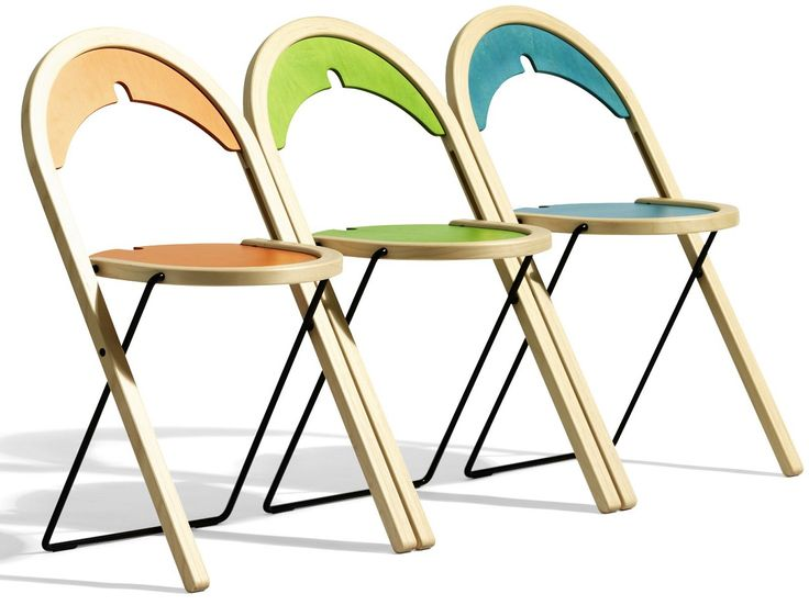 Foldable Furniture | ... , Folding Chairs: The Simple Furniture: Colorful  Folding
