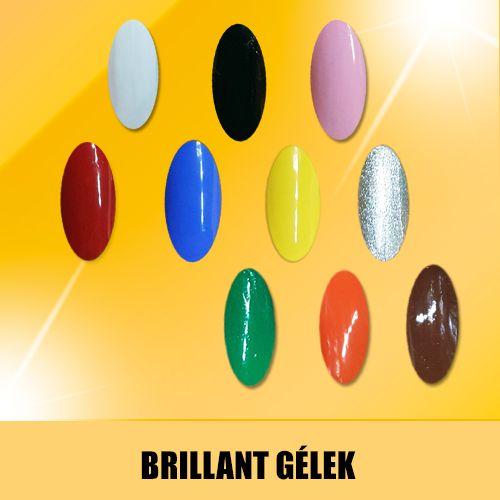 Csodaszép színű zselék a gyönyörű körmökért!  http://goldnails.eu/termekkategoria/gold-nails-zselek/brillant-gel/