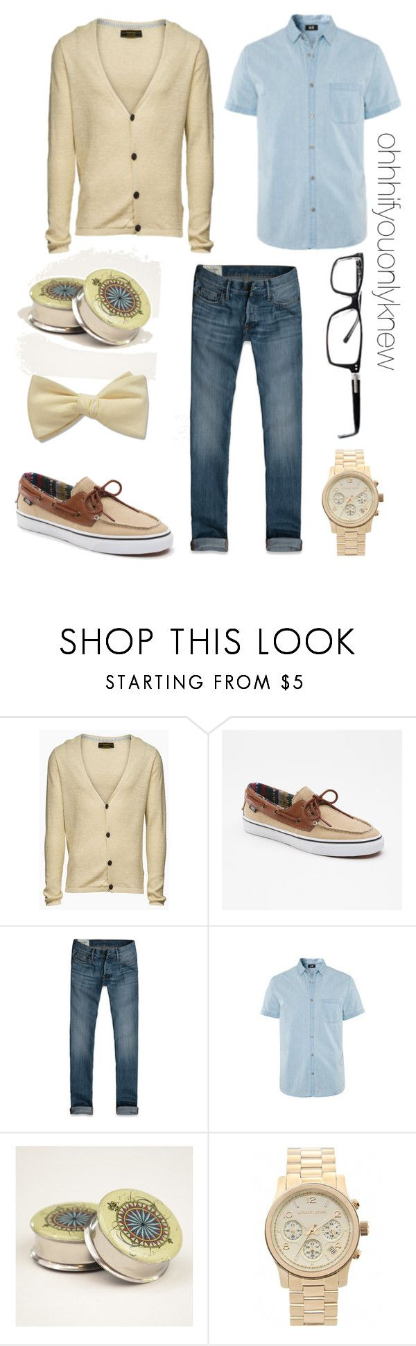 """Untitled #179"" by ohhhifyouonlyknew ❤ liked on Polyvore featuring Jack & Jones, Abercrombie & Fitch and Michael Kors"