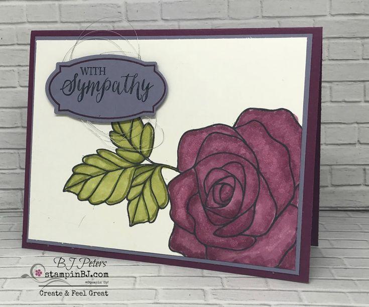 Rose Wonder, Rose Garden, Stampin' Up!, #stampinBJ.com, BJ Peters