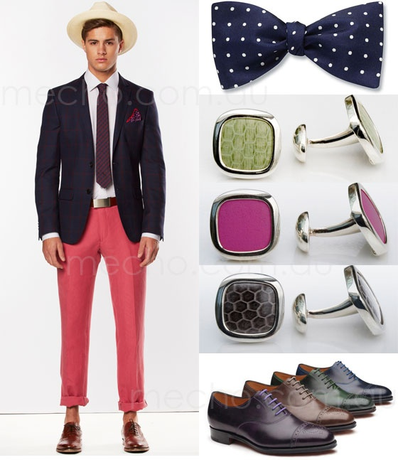 Men's Spring Racing Fashion Inspiration 2012 | mecho - the style black book