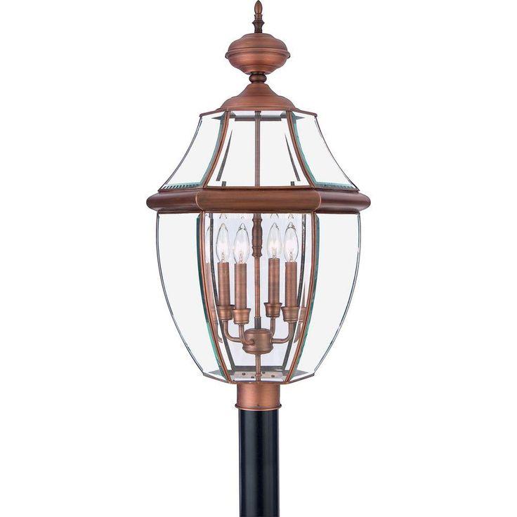 Home Decorators Collection Newbury 4-Light Aged Copper