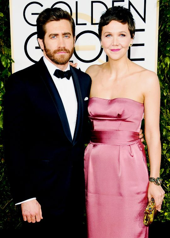 ake Gyllenhaal and Maggie Gyllenhaal attend the 72nd Annual Golden Globe Awards at The Beverly Hilton Hotel on January 11, 2015 in Beverly Hills, California