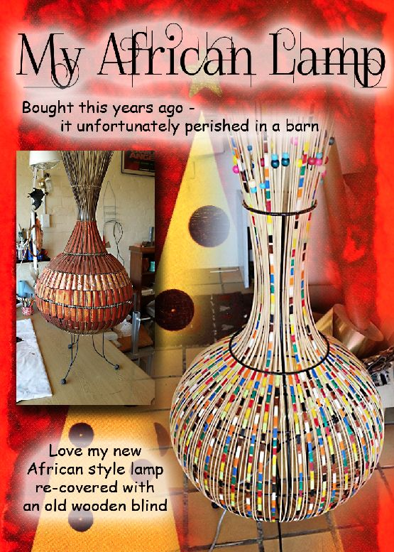 My African Lamp
