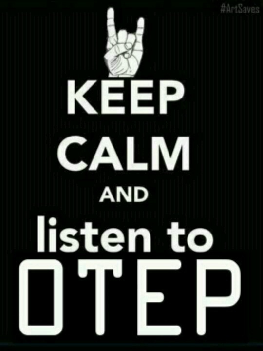 I can do the listen to Otep!  But there is no way in HELL I can  stay Calm about  it!     \m/***