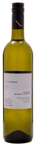 2015er Frank & Frei Silvaner QbA trocken Restzuckergeh. 4.30 g/L  Säuregehalt6.80 g/L  Alkoholgehalt12.00 %vol