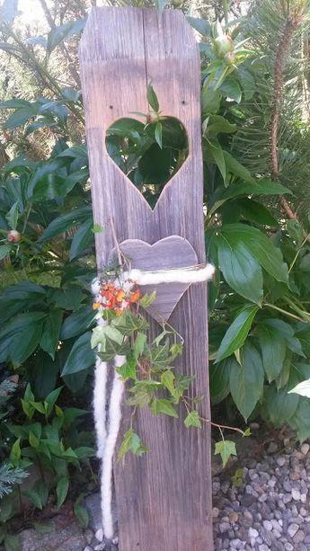 s`Gärtchen: altes Holzbrett