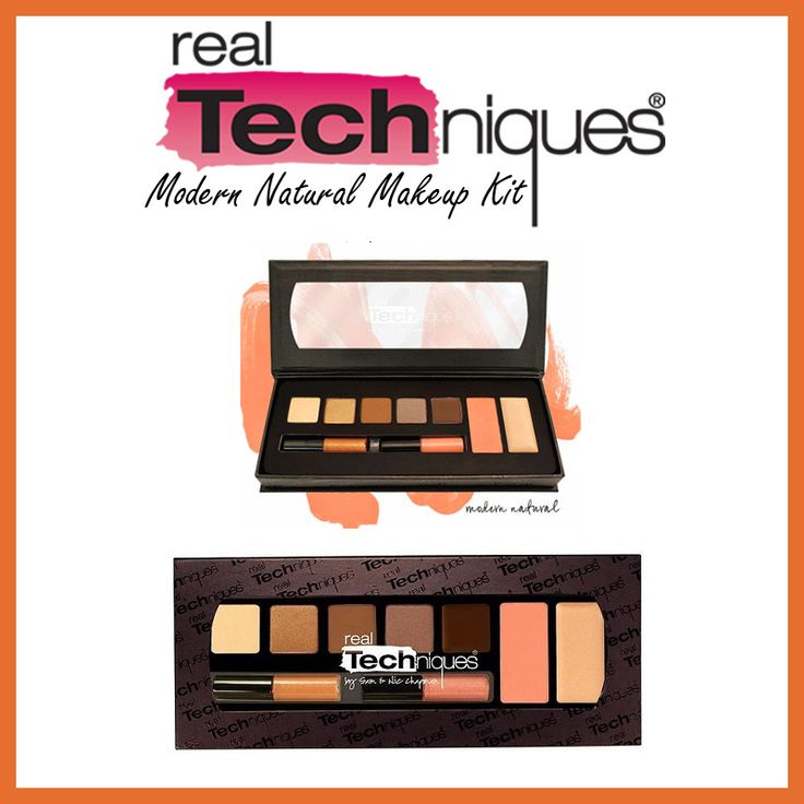 Real Techniques - Modern Natural Makeup Kit