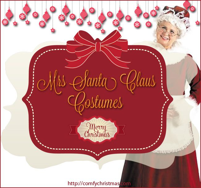 Mrs Santa Claus Costume • Comfy Christmas http://comfychristmas.com/mrs-santa-claus-costume/