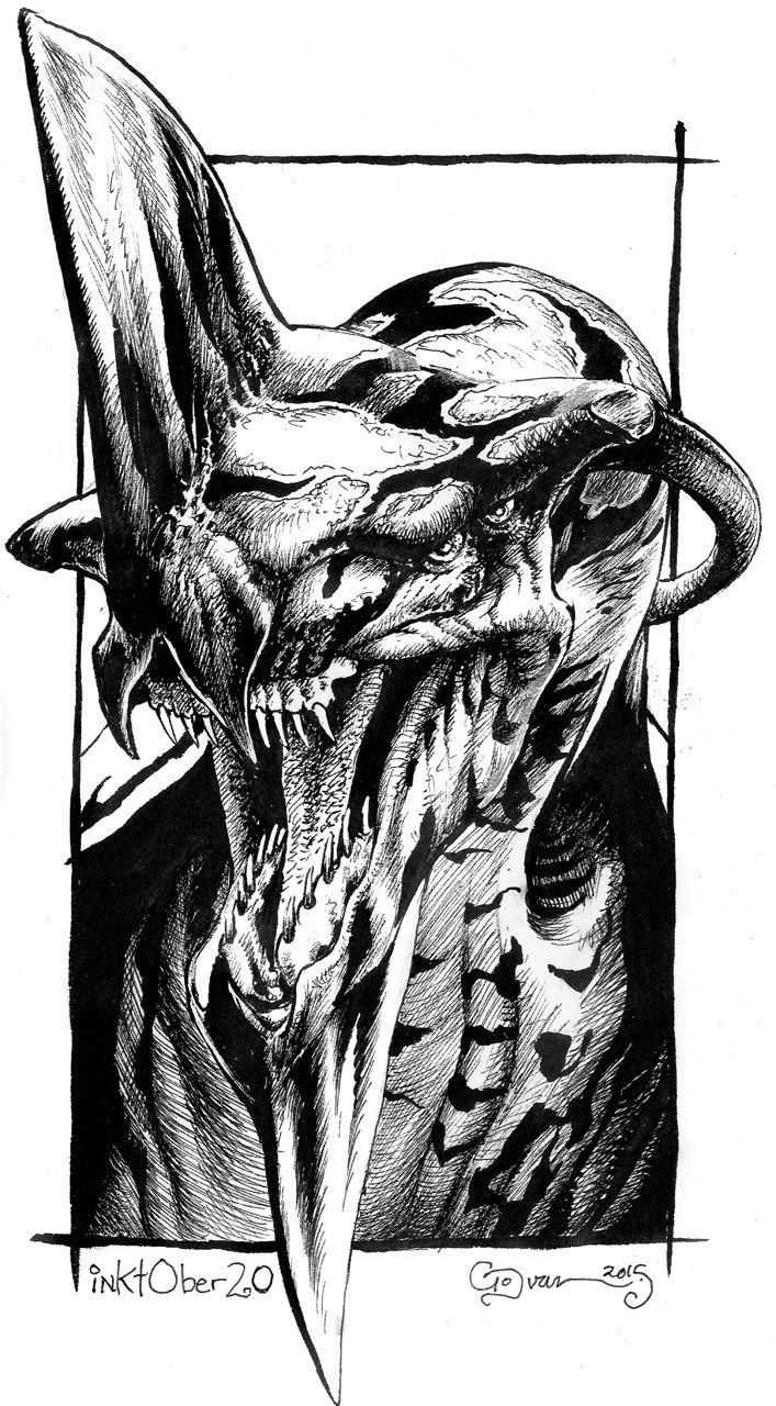 Inktober 20 Toruk Makto by DanielGovar.deviantart.com on @DeviantArt