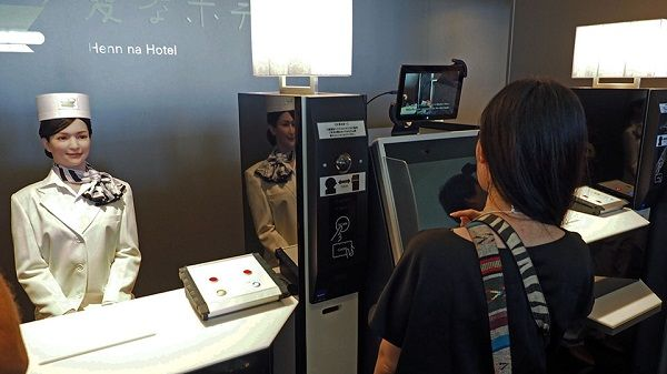 THE BIGGEST WORLD COMMUNITY OF ENTREPRENEURS!!!: Japan's ridiculous robot hotel is actually serious...